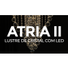 Lustre de Cristal com LED Atria II